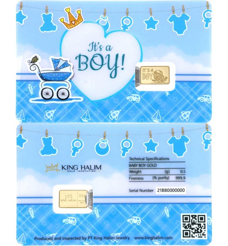 BABY BOY GOLD BAR