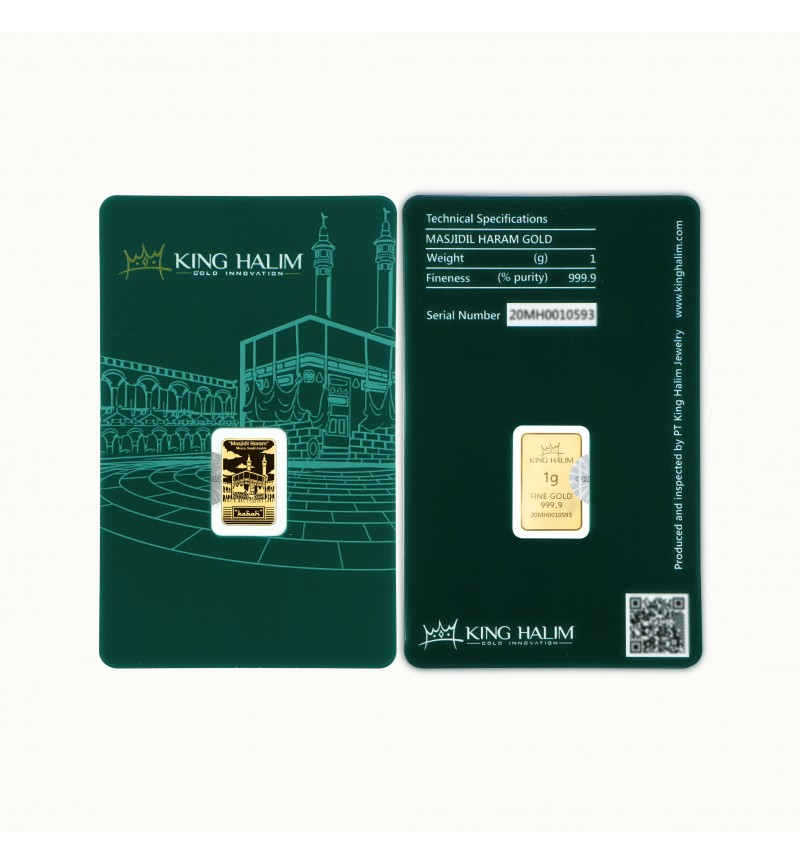 MASJIDIL HARAM GOLD BAR