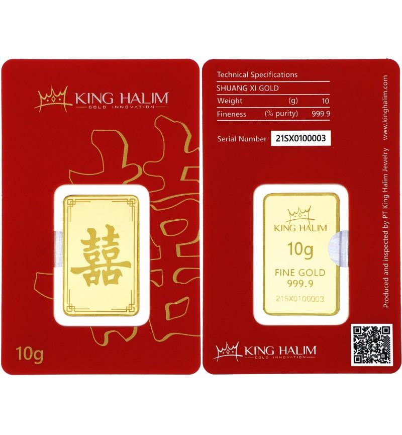GOLD BAR  SHUANG XI