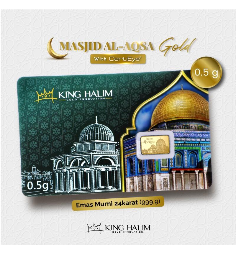 MASJID AL-AQSA GOLD BAR